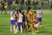 Bahia e Juazeirense não saem do zero no primeiro jogo de semifinal | Foto:
