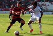 Vitória vacila no fim e cede empate ao Bahia de Feira   Foto: Maurícia da Matta   EC Vitória   Divulgação