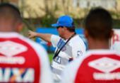 Guto Ferreira aprimora parte tática e bolas paradas no Bahia | Foto: Felipe Oliveira l EC Bahia