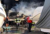 Superaquecimento de lancha gerou incêndio na Marina do Bonfim | Foto: Mila Cordeiro | Ag. A TARDE