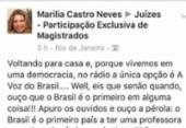 Desembargadora que postou fake news sobre Marielle critica professora com Down | Foto: Reprodução | Facebook