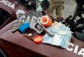 Homens são presos após atirar em PM no Uruguai | Foto: Divulgação | SSP-BA