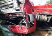 Colisão entre carretas deixa motoristas mortos na BR-116 | Foto: Reprodução | Blog do Marcelo