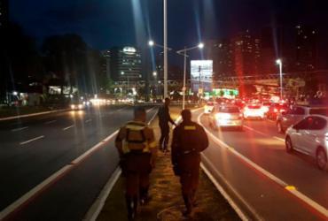 Operação de trânsito multa 45 condutores que trafegam em ciclovias | Divulgação | Transalvador