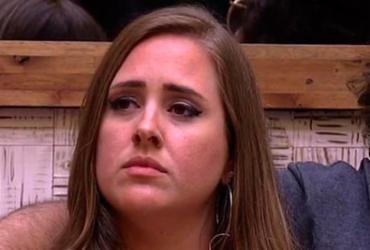 Patrícia bate recorde de rejeição e é eliminada do BBB com 94,26% dos votos | Reprodução | TV Globo