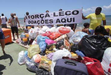 População contribui com campanha para sobreviventes de desabamento | Margarida Souza | Ag. A TARDE