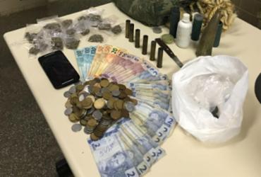 Presa quadrilha de tráfico e roubo que agia em Mucugê   Divulgação   SSP