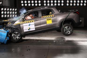 Fiat banca crash test e Toro recebe 4 estrelas no Latin NCAP   Fiat   Divulgação