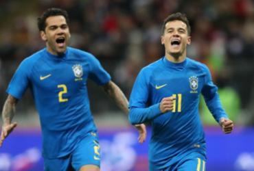 Brasil deslancha na etapa final, marca 3 e vence Rússia com facilidade em Moscou   Lucas Figueiredo   CBF