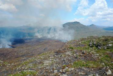 Após quatro dias, incêndio em Parque Nacional da Chapada é controlado | Luiz Coslope