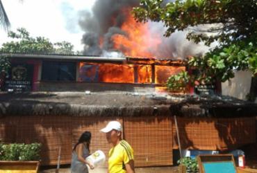 Incêndio atinge restaurante em Morro de São Paulo | Cidadão Repórter | Via WhatsApp