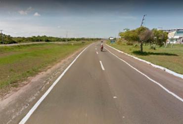 Incêndio atinge vegetação na estrada do Coco | Reprodução | Google Maps