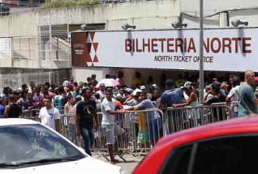 Mais de 33 mil ingressos já estão vendidos para o Ba-Vi   Adilton Venegeroles l Ag. A TARDE
