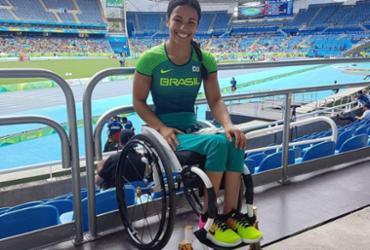 Aline Rocha será a porta-bandeira do Brasil nos Jogos Paralímpicos de Inverno   Reprodução   Facebook