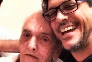 Lúcio Mauro Filho faz homenagem aos 91 anos do pai: 'Guerreiro' | Reprodução | Instagram