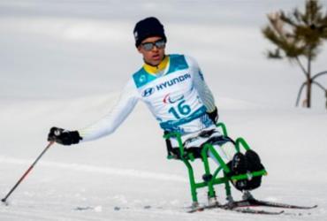 Brasileiros ficam fora de finais de provas do esqui na Paralimpíada de Inverno   Bob Martin   OIS   IOC   AFP