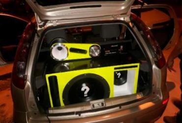Mais de 50 equipamentos são apreendidos em ação de combate à poluição sonora | Divulgação | Semop