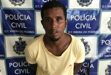 Suspeito de homicídio em quatro cidades é preso em Ribeira do Pombal | Divulgação | SSP