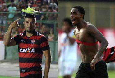 André Lima é artilheiro do time na temporada; Denilson também fez seis gols, mas um não valeu - Maurícia da Matta l EC Vitória e Raul Spinassé l Ag. A TARDE