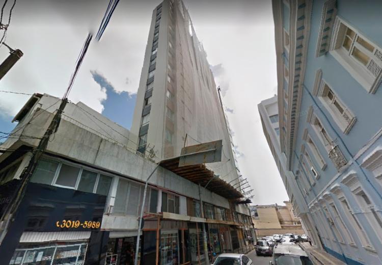 Operário trabalhava na reforma de um prédio na rua Carlos Gomes - Foto: Reprodução | Google Street View
