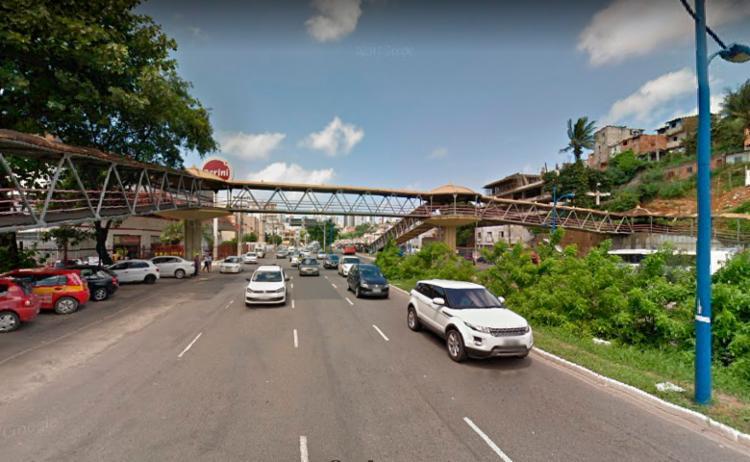 Crime aconteceu na avenida Vasco da Gama, em Salvador - Foto: Reprodução | Google Street View