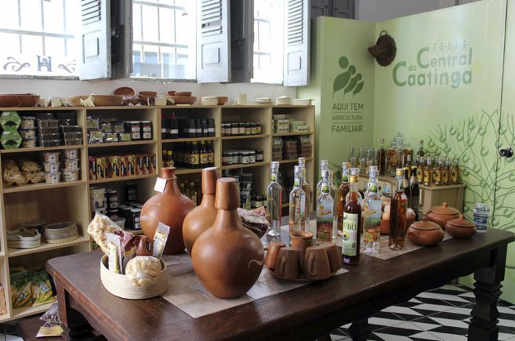 No Armazém da Central da Caatinga são encontrados produtos típicos do Sertão - Foto: Divulgação
