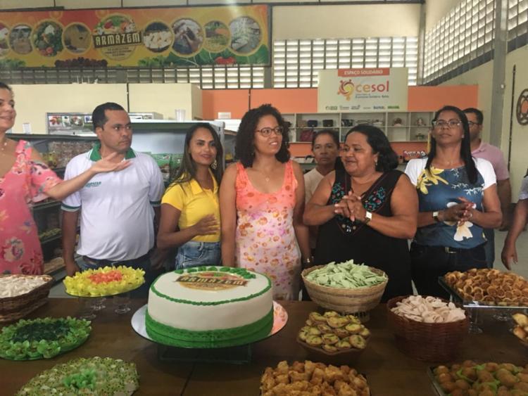 A unidade funciona conveniada a 45 cooperativas e beneficia, ao todo, 2.363 famílias - Foto: Divulgação