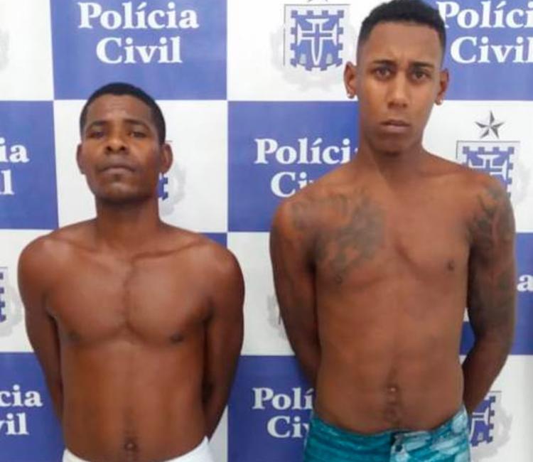 Suspeitos foram encaminhados para a unidade policial e seguirão para o sistema prisional - Foto: Divulgação | Polícia Civil