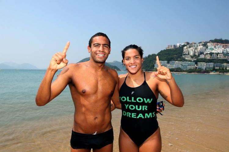 Temporada de 2014 teve Ana Marcela campeã no feminino e Allan masculino - Foto: Satiro Sodre/SSPress | Divulgação