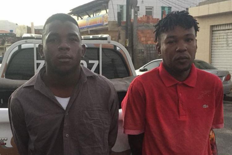 Policiais perceberam a ação dos suspeitos dentro de micro-ônibus - Foto: Divulgação