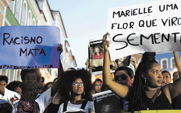 Dados de racismo indicam tendência de aumento, enquanto feminicídio reduziu-se em janeiro - Foto: Mila Cordeiro | Ag. A TARDE