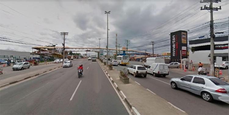 Fluxo na Estrada do Coco segue normal no sentido Salvador - Foto: Reprodução | Google Maps