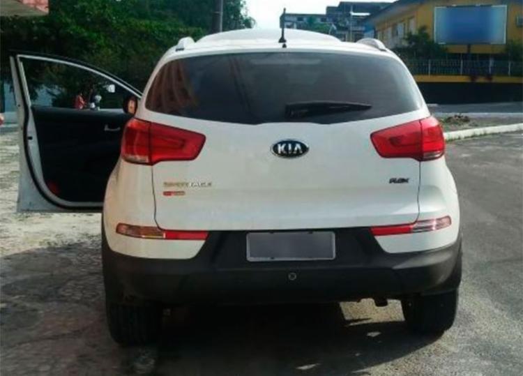 Carro estava com restrição de roubo em Salvador - Foto: Divulgação | PRF