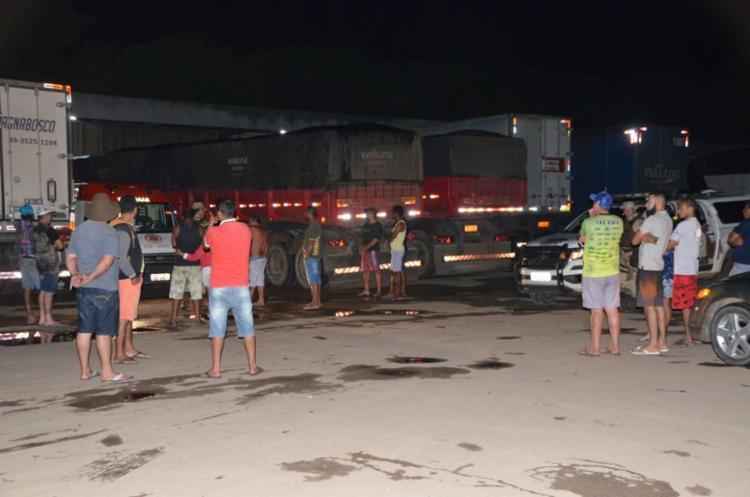 Caminhoneiros relataram que vítima discutia com dois homens - Foto: Reprodução | Blog Sigi Vilares