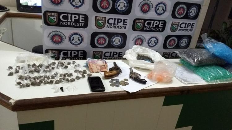 Material apreendido com os suspeitos - Foto: Divulgação | SSP-BA
