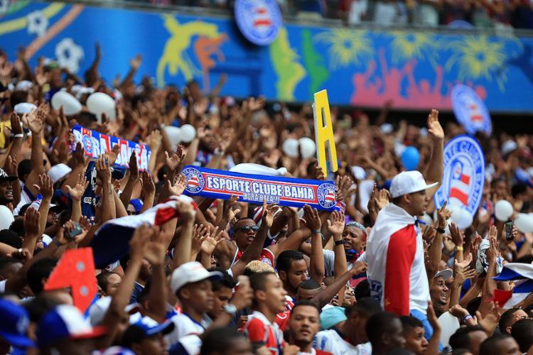 Clássico será realizado no dia 1º, na Fonte, e terá presença apenas da torcida tricolor - Foto: Felipe Oliveira l EC Bahia l 25.11.2016