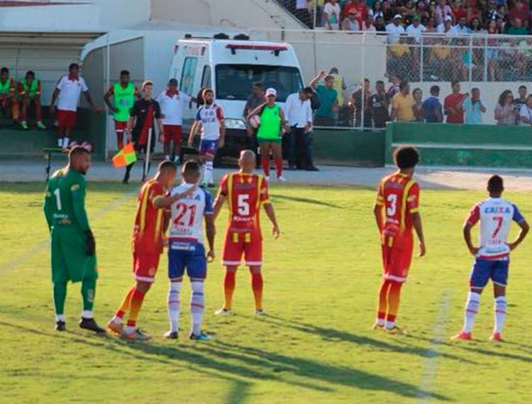 Tricolor garantiu a vaga na semifinal do Baianão - Foto: Reprodução | Facebook