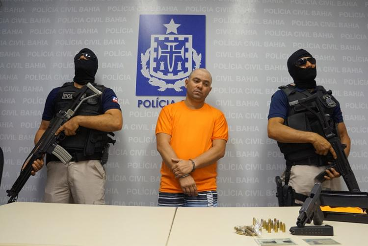 Didi foi apresentado pela Polícia Civil nesta segunda - Foto: Divulgação Polícia Civil