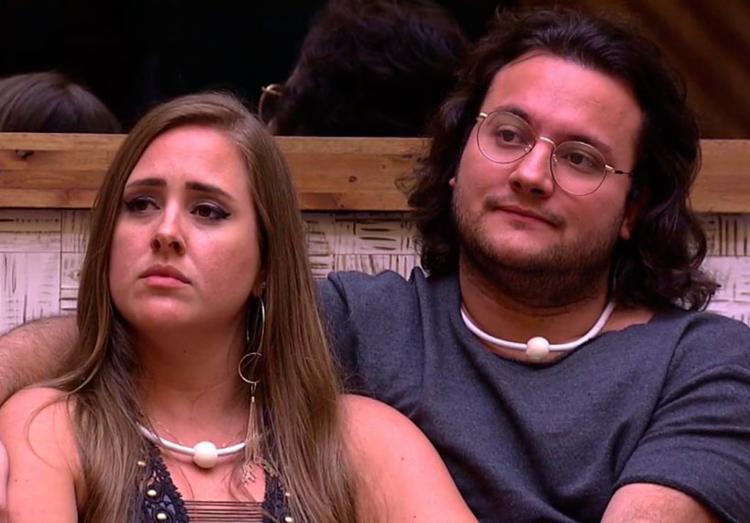 Patrícia disputou paredão com amigo Diego e Caruso - Foto: Reprodução | TV Globo