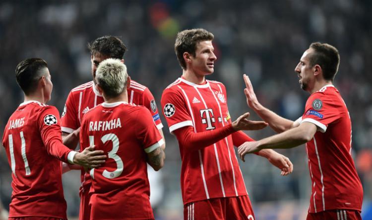 Placar agregado das partidas foi 8 a 1 para o time alemão - Foto: Ozan Kose | AFP