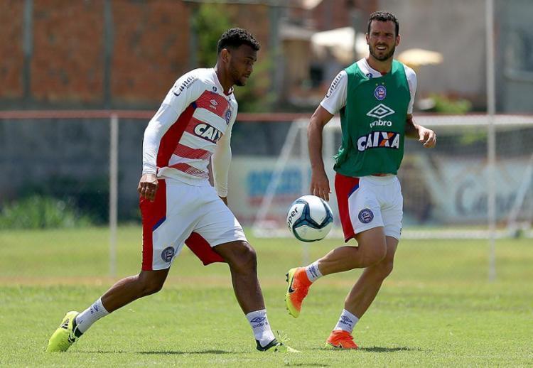 Recuperado de lesão, Brumado retorna contra a Juazeirense - Foto: Felipe Oliveira l EC Bahia