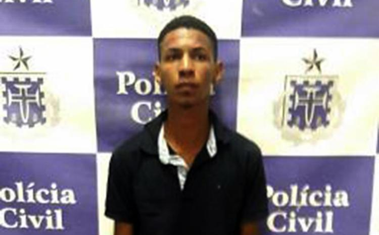 Caio foi flagrado em veículo com placa clonada - Foto: Divulgação l Polícia Civil