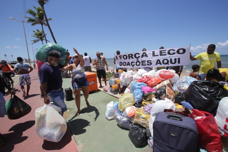 Campanha #AmigosdoLeco está arrecadando roupas, comida, móveis e dinheiro para o casal - Foto: Margarida Souza | Ag. A TARDE