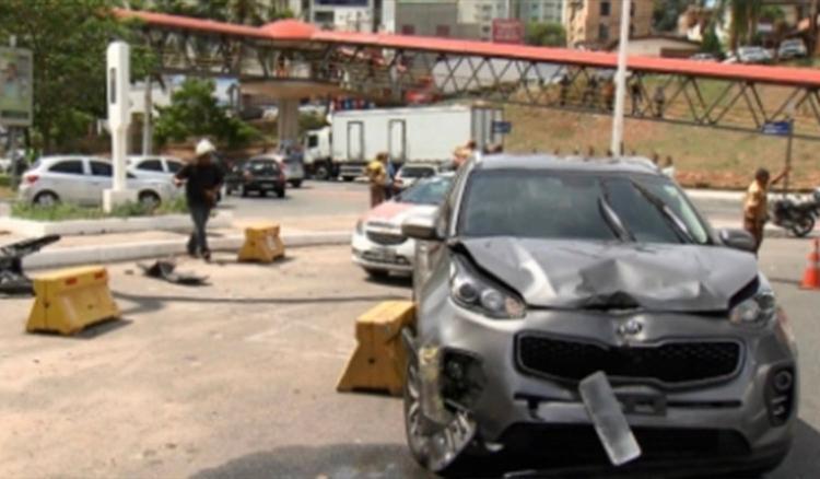 Médica conduzia Kia Sportage que bateu em moto - Foto: Reprodução | TV Bahia
