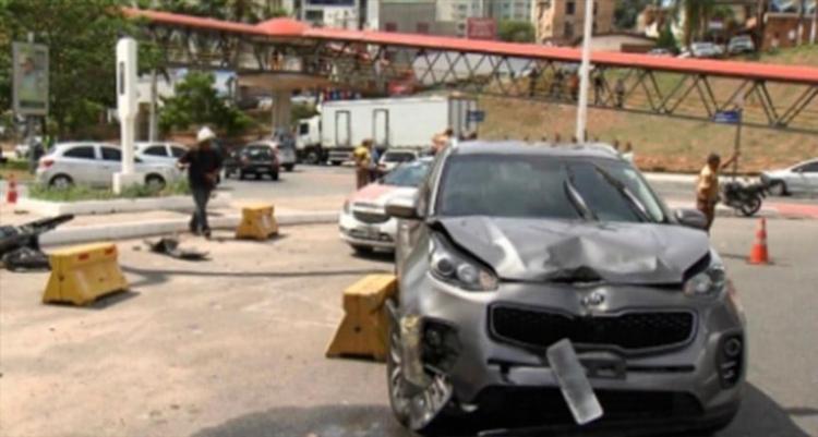 Acidente aconteceu no último dia 15, no Itaigara - Foto: Reprodução | TV Bahia