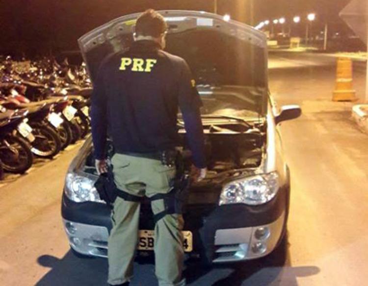 Veículo foi encontrado por volta das 20h - Foto: Divulgação | PRF