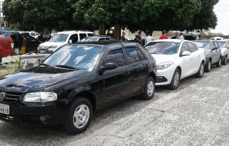 Dois dos veículos apreendidos estavam clonados - Foto: Reprodução | Acorda Cidade
