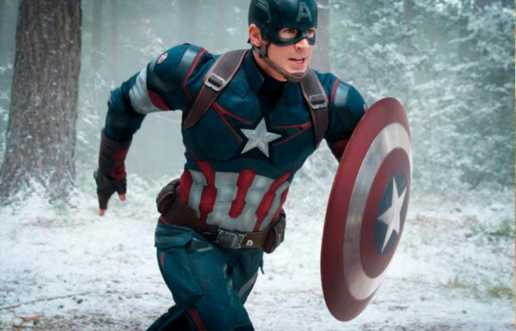 Ator terá feito o Capitão América pelo menos uma vez por ano em filmes da Marvel - Foto: Divulgação