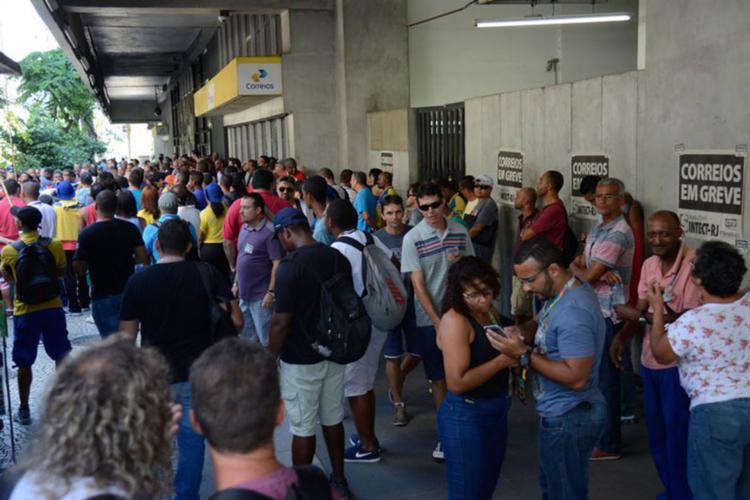 Decisão acontece após Justiça determinar volta ao trabalho de 80% dos carteiros - Foto: Tomaz Silva | Agência Brasil