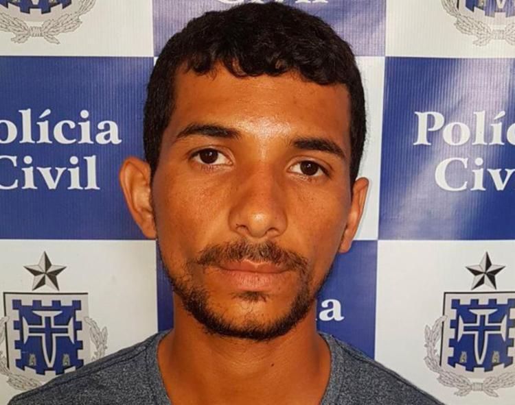 Suspeito tinha um mandado de prisão em aberto - Foto: Divulgação | Polícia Civil